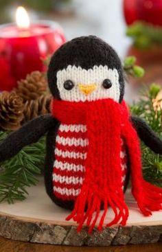 Strickmuster für Winterlicher Pinguin