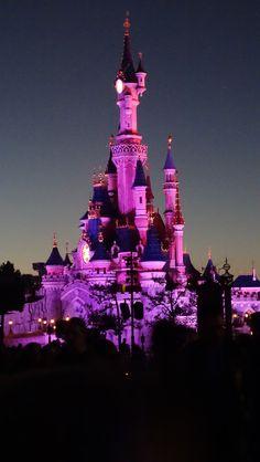 Nov. 2015 Disneyland Paris Castle