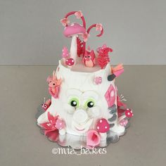 Funny forest cake by mia_bakes