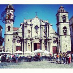Plaza de la Catedral. La Habana.