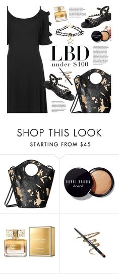 """""""LBD Under $100"""" by beebeely-look ❤ liked on Polyvore featuring Elizabeth and James, Bobbi Brown Cosmetics, Givenchy, Avon, LittleBlackDress, LBD, sammydress and under100"""