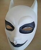 #batman #joker #tobeornottobe #diy #gothic #mask