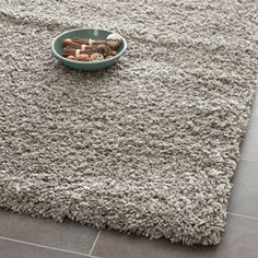 Safavieh California Cozy Plush Silver Shag Rug 6u00277 X 9u00276 By