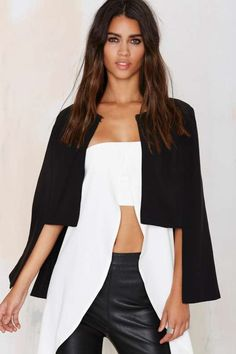 Playing for Capes Structured Shoulder Cape