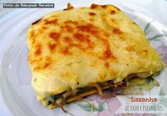 Duck and Spinach Lasagna