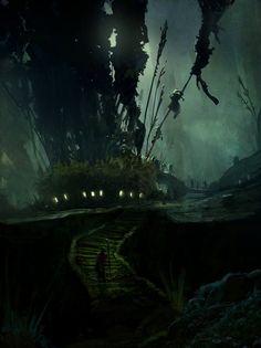 'Giant Alien World' by Eddiedelrio