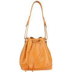 Louis Vuitton Orange Epi Noe Bucket Bag