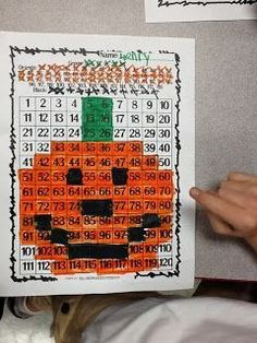 {Free} Halloween Mystery Picture: Help students to read and recognize numbers 1-120 with this fun freebie!