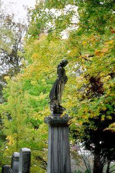 Statue st Bernard's cemetery, bradford