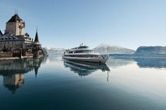 By the way: #boat cruises are also nice in wintertime. #LakeThun http://bls.ch/e/schifffahrt