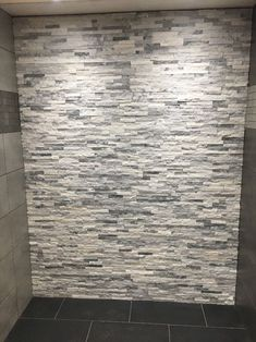Sparkle White Grey  Split Face Mosaic Tile Rock Panels - 3D Wall Cladding - m2
