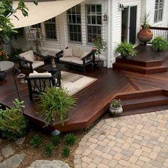 Cool Backyard Deck Design Idea 54