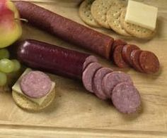 Homemade Summer Sausage and Pepperoni Recipes - InfoBarrel sausage and veggies;recipes with sausage dinner;spaghetti with sausage;orrechiette with sausage; Homemade Summer Sausage, Summer Sausage Recipes, Homemade Sausage Recipes, Pepperoni Recipes, Venison Summer Sausage Recipe, Smoked Pepperoni Recipe, Jerky Recipes, Venison Recipes, Gastronomia