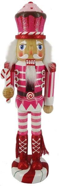 Retail - Nutcracker Ballet Gifts - 12 inch Nutcracker - Cupcake, $14.00