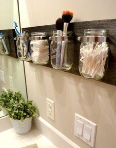 Dodatki do łazienki zrobione z niepotrzebnych rzeczy