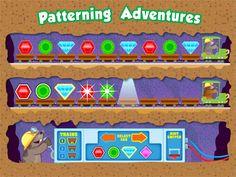 Patterning Adventures Interactive Activities