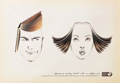 "Campaña de U.K. National Book Tokens: ""Because every book nut is different"""
