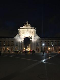 Praça do Comércio_Terreiro do Paço_Arcos da Rua Augusta_Lisboa