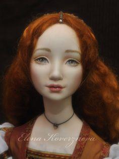 Купить Джульетта - рыжий, кукла интерьерная, подарок, подарок девушке, подарок женщине, подарок мужчине