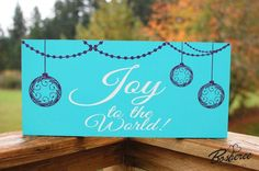 HOLIDAY SIGN SALE  Christmas Sign  Custom Wood Sign by Bosheree, $28.00