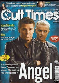 David Boreanaz - Cult Times Magazine [United States] (June 2004)