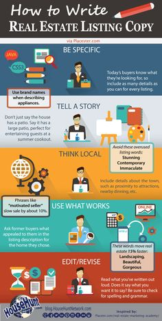 How to Write Real Estate Listing Copy [Infographic]. I definitely will not be using these words for my client's listings! How to Write Real Estate Listing Copy [Infographic]. I definitely will not be using these words for my client's listings! Real Estate School, Real Estate Career, Real Estate Leads, Real Estate Business, Selling Real Estate, Real Estate Tips, Real Estate Sales, Real Estate Investing, Real Estate Marketing