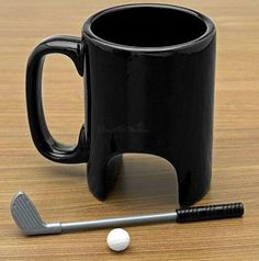 Putt Putt Golf via trendhunter #Mug #Golf #trendsetter christmas for my proshop guys.