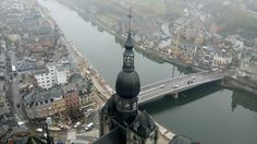 View from Citadelle, Dinant, Belgium