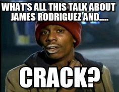 James Rodriguez crack meme 2014