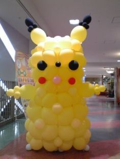 Balloon Pikachu at Kelsey's wedding? you said you wanted balloons!