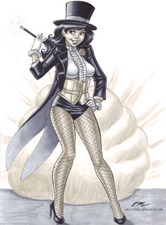Zatanna Commission by em-scribbles on DeviantArt