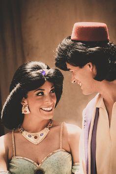 Princess Jasmine and Aladdin Aladdin And Jasmine, Princess Jasmine, Princess Pics, Disney Jasmine, Disney Princess, Disney World Florida, Disney Parks, Walt Disney World, Disney Love