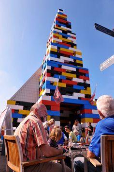 Giant lego church