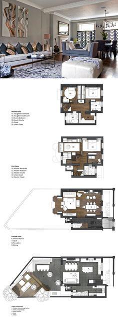 Contemporary London Hyde Park Townhouse   iDesignArch   Interior Design, Architecture & Interior Decorating eMagazine