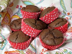 Quick and easy recipe for Chocolate Muffins. Nutritional information included.