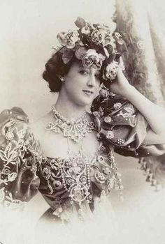 La Belle Otero, Spanish dancer and courtesan, the most desired woman in Europe, who had countless lovers, including Prince Albert I of Monaco, King Edward VII, Kings of Serbia, Kings of Spain, Russian Grand Dukes Peter and Nicholas, the Duke of Westminster and writer Gabriele DAnnunzio. Six men were rumored to have committed suicide over her. Her breasts were legendary; the twin cupolas of the Hotel Carlton in Cannes were modeled after them.