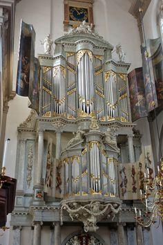 Amsterdam_Westerkerk_Orgel_(1).jpg (1168×1752)  Die Duyschot Orgel in der Westerkerk, Amsterdam, Niederlande.