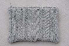 Yarn: Jaeger Cashmere 4 Ply (90% cashmere and 10% polyamide), #0116 light grey, 1 ball (107 yd [98m] / 25g) Pattern: My own (inspired by ...