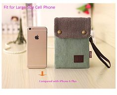 Amazon.com: Women Candy Green Mini Cute Crossbody Bag Cellphone Wallet Purse Loose Change Pouch for iPhone 6S/6 Plus Samsung Galaxy Note 5 4 with NEW DURABLE SHOULDER and WRIST STRAP: Electronics