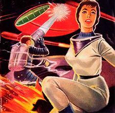 Dark Roasted Blend: Rare & Wonderful 1950s Space Art