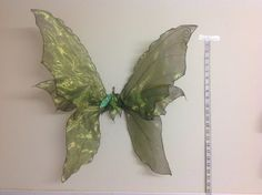 Beautiful Unique Green Woodland Adult Fairy Wings