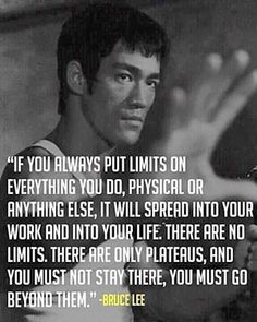 Bruce Lee #quote #fitness #motivation