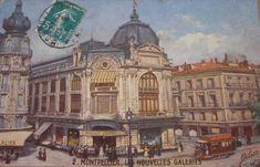 """Montpellier de 1900 à 1950"""" Montpellier, Barcelona Cathedral, Taj Mahal, Building, Travel, Viajes, Buildings, Destinations, Traveling"""