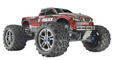 Traxxas E-Maxx Truck RTR w/Castle Mamba 2.4GHz TRA3908T1 - adult toy Best Remote Control Helicopter, Remote Control Toys, Traxxas E Maxx Brushless, Electric Truck, Car Head, Truck Scales, Rc Cars And Trucks, Outdoor Toys, Monster Trucks