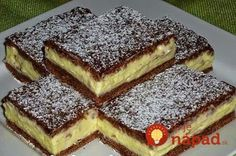 To je nápad! Hungarian Cake, Hungarian Recipes, Sweet Desserts, No Bake Desserts, My Recipes, Cookie Recipes, European Dishes, Sweet Cookies, Pavlova