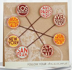 Follow Your Dreams Card by @Jessica Witty