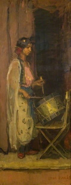 The Athenaeum - The Egyptian Drummer Girl Date unknown (Isaac Israels - )