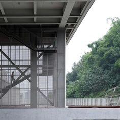 Image 2 of 41 from gallery of Chongqing Taoyuanju Community Center / Vector Architects. Photograph by Su Shengliang System Architecture, Cultural Architecture, Space Architecture, Amazing Architecture, Contemporary Architecture, Chongqing, Outdoor Walkway, Urban Agriculture, Urban Life