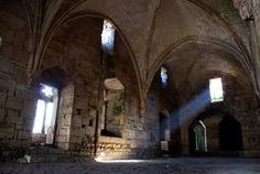 The knights hall - Krak Des Chevaliers, Hims - .Syria-