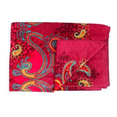 Bombaim Beach Towel 40x72 Red, $22, now featured on Fab. It matches my swimsuit!